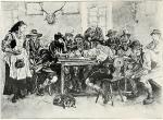 """Herkomer """"Im Wirtshaus"""" (1883)"""