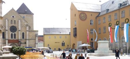 Domplatz in Regensburg