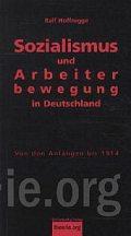 Cover Hoffrogge Sozialismus